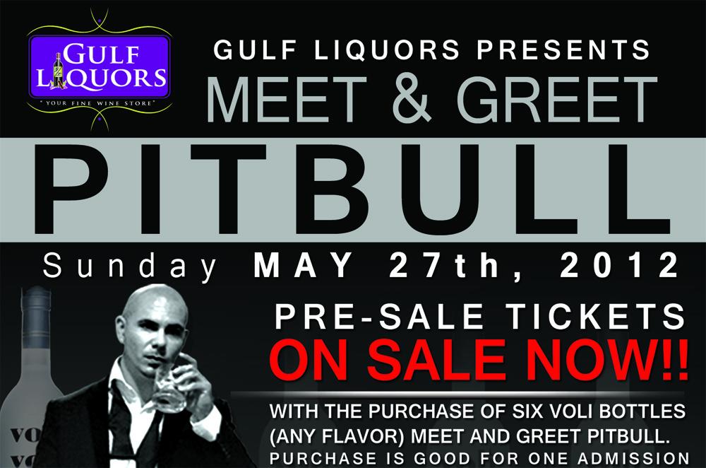 Pitbull Meet and Greet