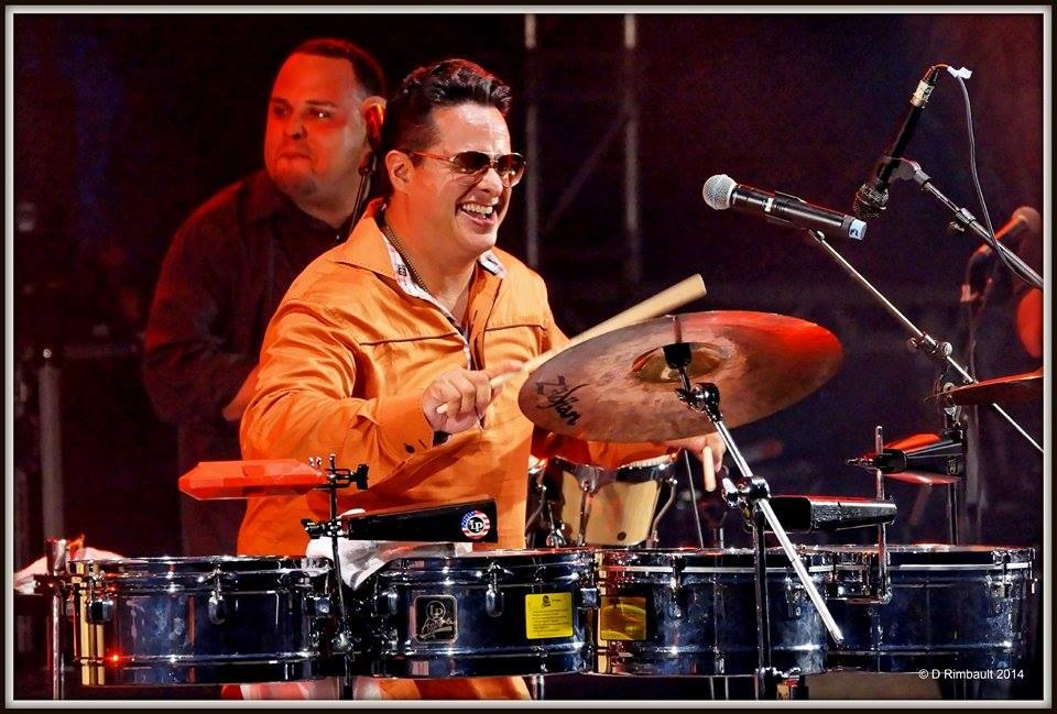 Tito Puente Jr in Mexico – 2014 Salsa Festival